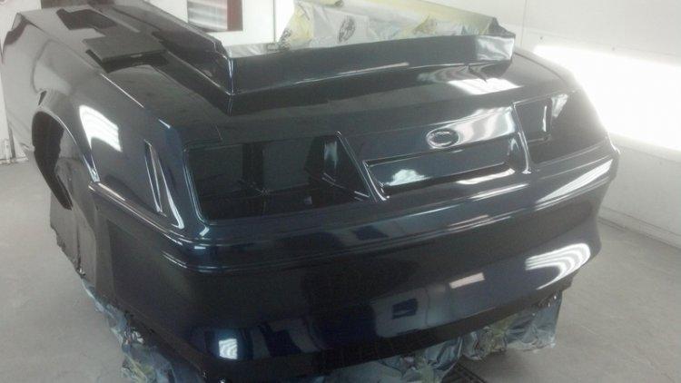 85 86 Mustang Outlaw 1 Piece Front End FiberglassCarbon