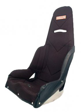 Kirkey Pro Street Seat Black Tweed Seat Cover