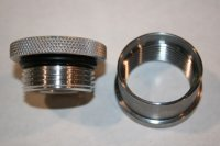 "2"" Aluminum Cap and Steel Bung"