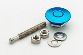Blue Anodized Mini Quik-Latch (Ea)