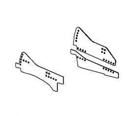 93-02 Camaro Kirkey Weld-In Seat Brackets (Passenger Side)