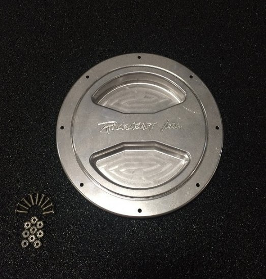 Racecraft Water Tank Lid, Aluminum Finish (Old Style)