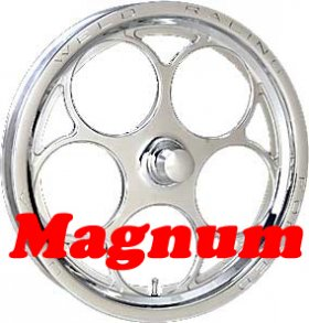 Weld Magnum Drag 2.0 15'' x 3-1/2'' Spindle Mount Wheel (Ea)