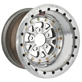 Weld V-Series 2.0 15'' x 10'' Polished Wheel (BC- 5 x 4.5)
