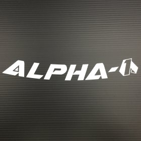 Alpha 1 Replacement Decal