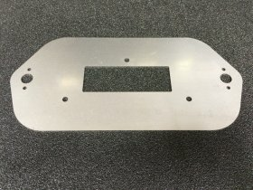 IQ3 Racepak Dash Panel Mount Plate