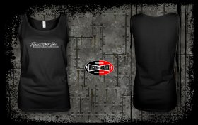 Racecraft Inc. Women's Black Tank