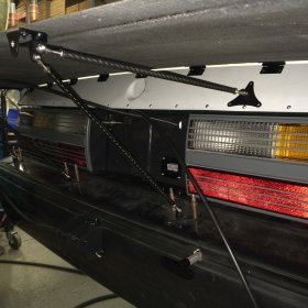 "1979-1993 Mustang Coupe 17"" Carbon Wing"
