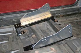 "1979-2004 Mustang Bolt In Seat Brackets (15"" - 18.5"")"