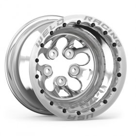Weld Alpha 1 15'' x 10'' Polished Wheel (BC- 5 x 4.5)