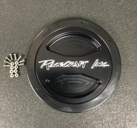 Racecraft Billet Water Tank Lid, Black Finish