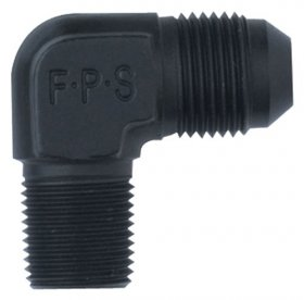 "(-3) x 1/8"" MPT 90 Degree Adapter Fitting"