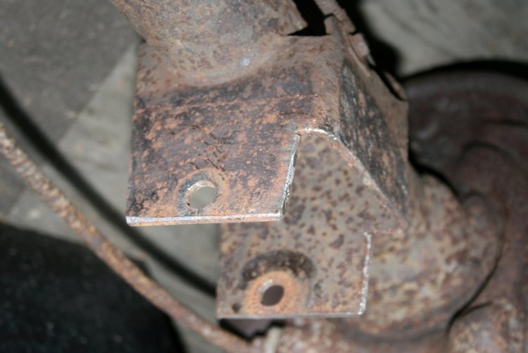 8.8 Ford Bolt On Lower Control Arm Housing Brackets