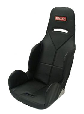 Kirkey Economy Drag Seat Black Tweed Seat Cover