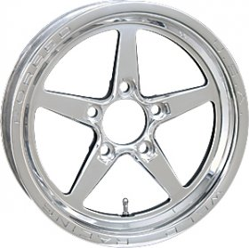 Weld Aluma Star 2.0 Polished Wheel 15'' x 3-1/2'' (Ea)