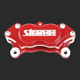 Strange 4 Piston Billet Caliper (Red)