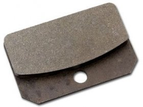 Strange 4 Piston Brake Pads - Soft Metallic (Each)