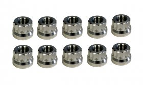 "5/8"" - 18 Aluminum Rear Lug Nuts (Set of 10)"