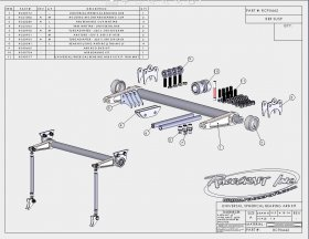 "Custom Chassis Vertical Mounted 2"" HD Anti-Roll Bar"