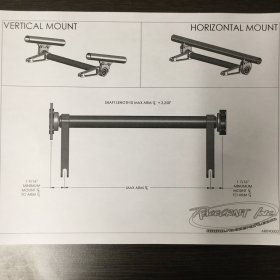 "Custom Chassis Horizontal Mounted 2"" HD Anti-Roll Bar"