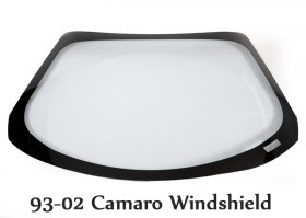 1982-2013 Camaro Lexan Drop In Windshield (Choose Thickness)