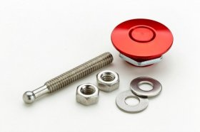 Red Anodized Mini Quik-Latch (Ea)