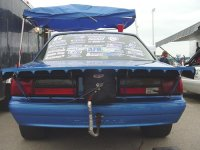 "1979-1993 Mustang 15"" Coupe Wing"