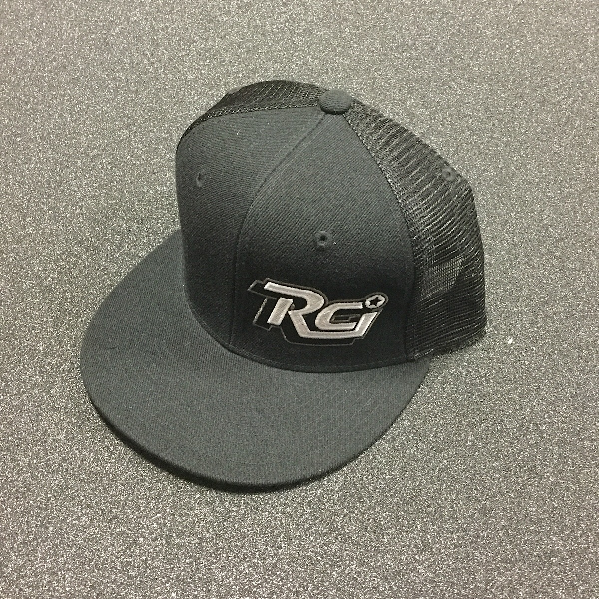 RCI Snap Back Flat Billed Hat (Black)