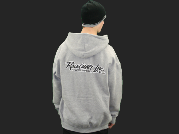 Racecraft Inc. Black & Gray & Red Hooded Sweat Shirts