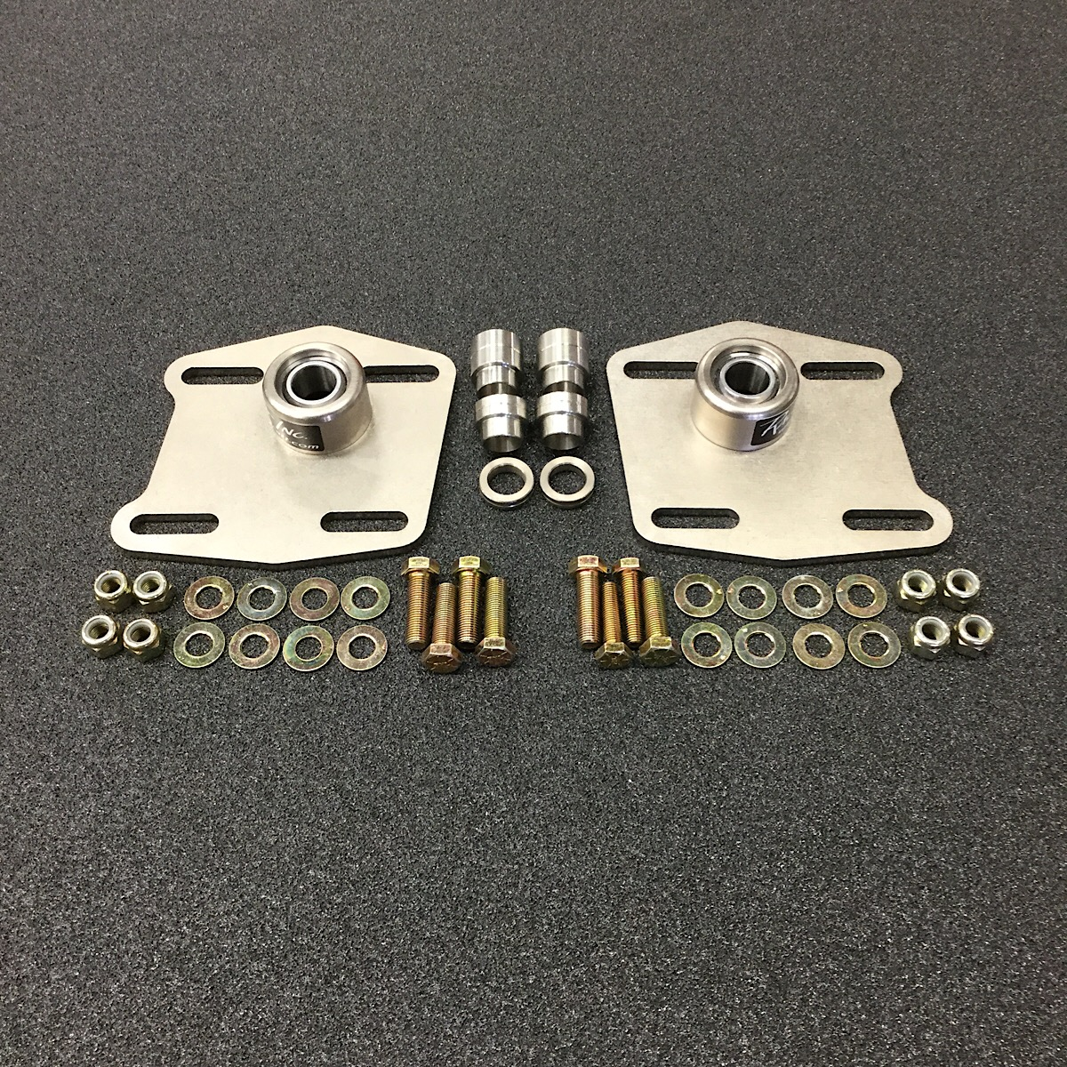 1994 2004 Mustang Steel Race Caster Camber Plates 340014