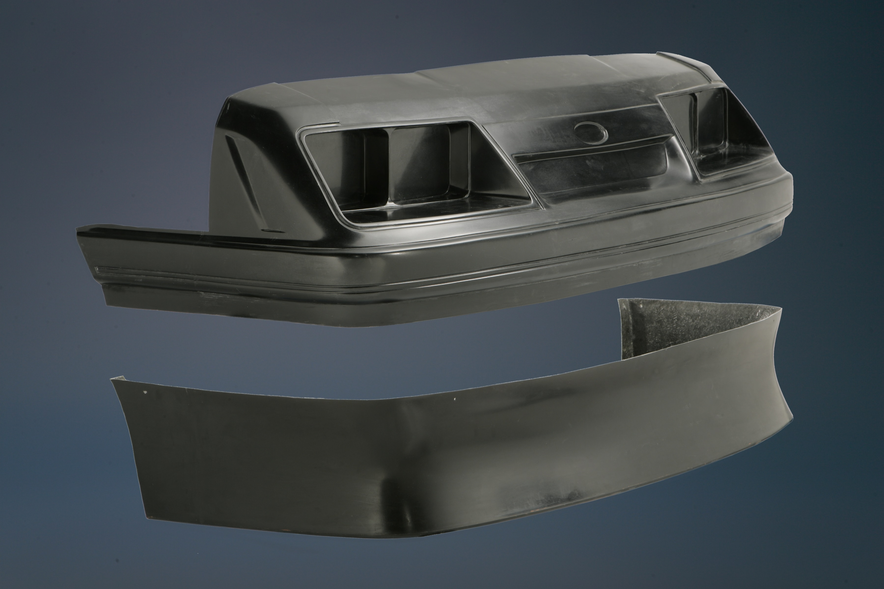 85 86 Mustang Outlaw Front Fascia Removable Spoiler FG