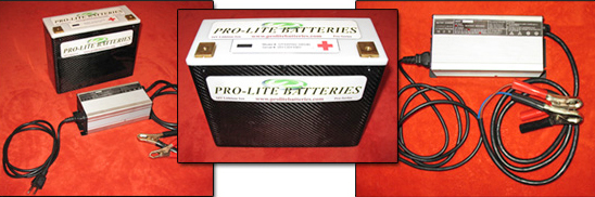Pro Series Lithium Ion Battery 950CA/12V