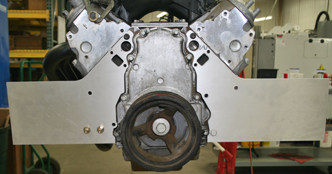 2 Piece LS/LSX .062 Below Deck Motor Plate [750201] - $135.00 ...