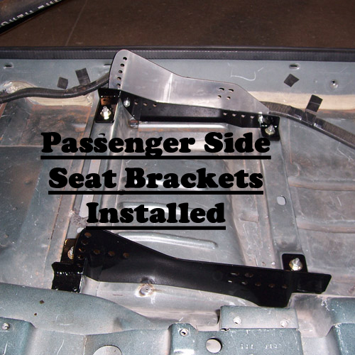 93-02 Camaro Kirkey Bolt-In Seat Brackets (Passenger Side)